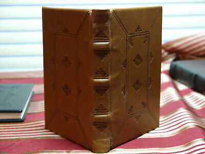 "Blank Page Book Brown Leather Hand Bookbinding 6"" x 4"""