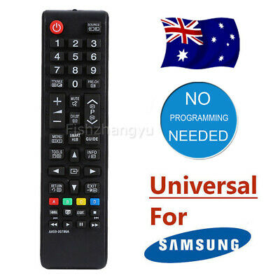 Samsung Universal TV Remote Control NO PROGRAMMING Smart 3D HDTV LED LCD TV OZ
