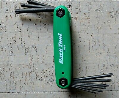 NEW Park Tool TWS-3 Y Torx Wrench T10 T25 T30  GREEN