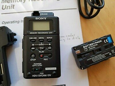 Sony HVR-MRC1 Memory Recording Unit Card Included 33GB with Battery