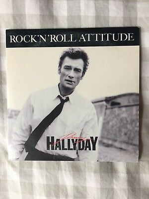 Johnny Hallyday Cd Single Rock'n'roll Attitude 1985