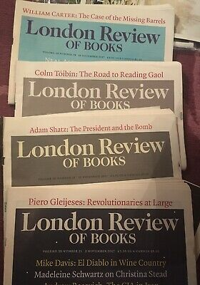 London Review Of Books 2017 Vol 39 No 21-24