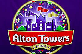2  x ALTON Towers tickets for Sunday 28th July 19