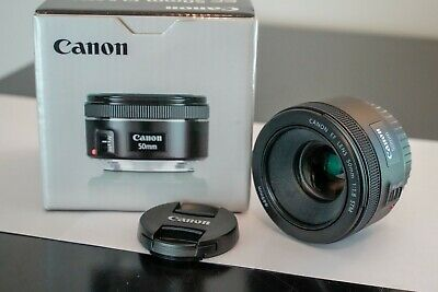 """Canon EF 50mm f/1.8 stm Lens - """"Nifty Fifty"""" - excellent condition!"""