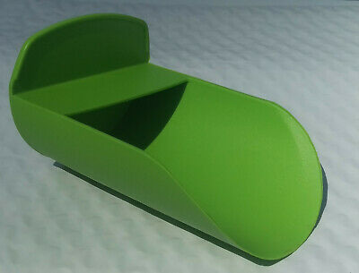 Tupperware Candy Apple Green Rocker Scoop for Canister Flour Sugar New