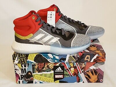 new collection thoughts on official store best website b5d97 a8fab adidas marquee boost mid x marvel ...