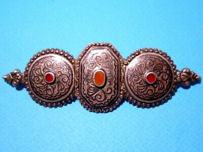 VERY RARE BEAUTIFUL ANTIQUE 1800s. SILVER NIELO BUCKLE CLASP SET!!!