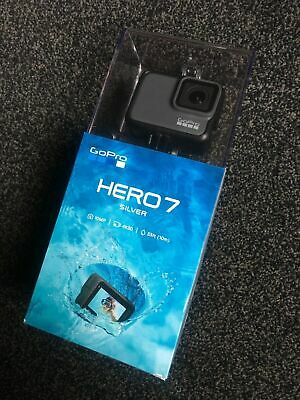 GoPro Hero 7 Silver 4K-Action Cam wasserdicht WLAN, GPS Touchscreen NEU OVP