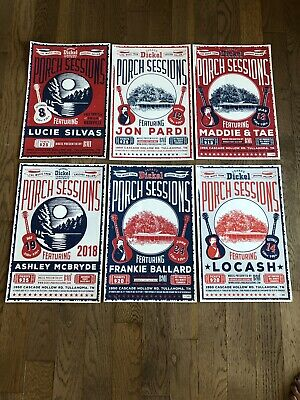 Rare George Dickel Tennessee Whisky, Porch Session Posters