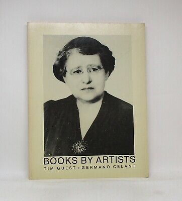 BOOKS BY ARTISTS ~ Tim Guest ~ Germano Celant ~ Art Metropole ~ Softcover 1981