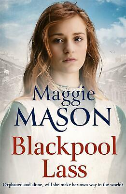 Blackpool Lass by Maggie Mason Hardcover Book Free Shipping!