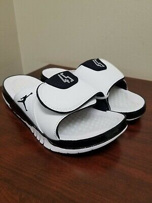 hot sale online 17bf3 df315 Jordan Hydro XI 11 Retro White Black Concord Slides(AA1336-107)
