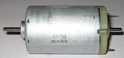 Johnson Electric Dual Shaft DC Motor - 18 VDC - 2700 RPM - 3.17 mm Dia. Shafts