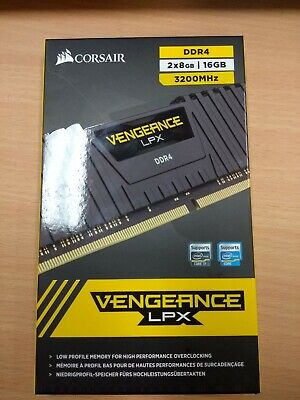 Corsair Vengeance LPX 16GB (2 x 8GB) PC4-25600 (DDR4-3200) CMK16GX4M2B3200C16