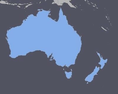 Australia New Zealand GPS Map 2020.1 for Garmin Devices - Download