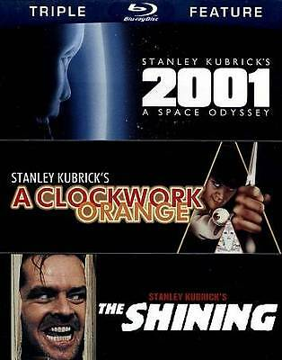 BRAND NEW: The Shining / A Clockwork Orange / 2001: A Space Odyssey (Blu-ray)