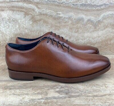 luxury aesthetic various styles exquisite style COLE HAAN MEN'S Jefferson Grand Wholecut Leather Oxfords ...