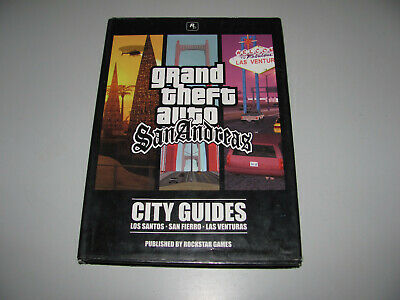 Grand Theft Auto San Andreas City Guides Strategy Book In Good Condition