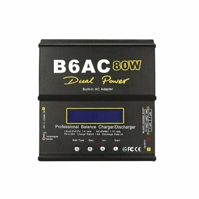Digital Charger B6AC Lipro Battery Original Balance Charger 80W for RC Mo WJ