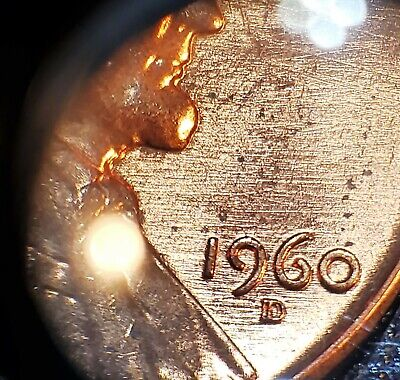 1960-Double-D Large Date Lincoln Memorial Penny