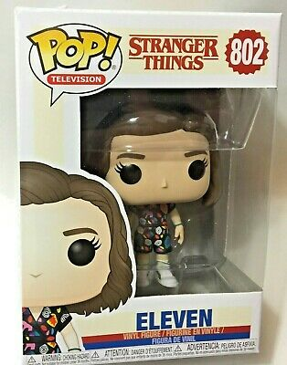 "FUNKO Pop STRANGER THINGS Season 3 ELEVEN #802 4"" Vinyl Figure Netflix IN STOCK"