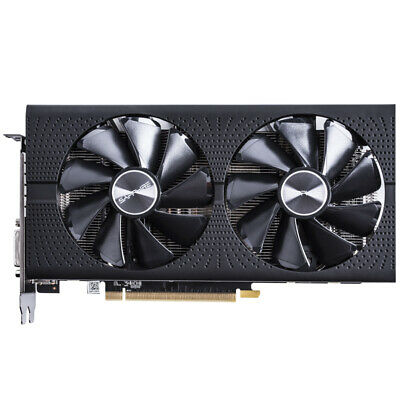 Used Sapphire RX580 8G GDDR5 256bit Video Gaming Graphic Card