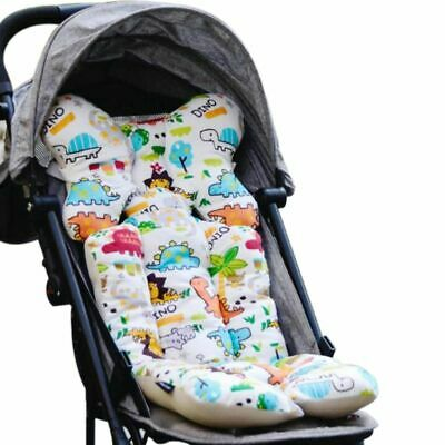 3X(Baby Printed Stroller Pad Seat Warm Cushion Pad mattresses Pillow Cover R5W6