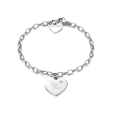 SAGAPO Bracciale CUORE Sagapò SBM13 Best friend Friendship s'agapo BE MY ALWAYS