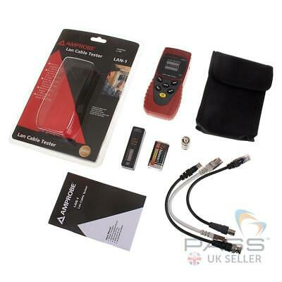 *NEW* Beha-Amprobe LAN-1 LAN Cable Tester / UK Seller