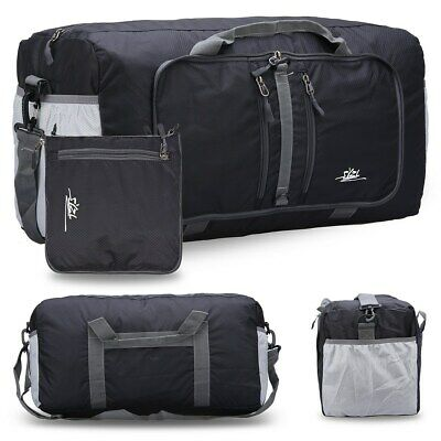 Travel Foldable Waterproof Duffel Bag Carry Luggage Tote Clothes Storage Large