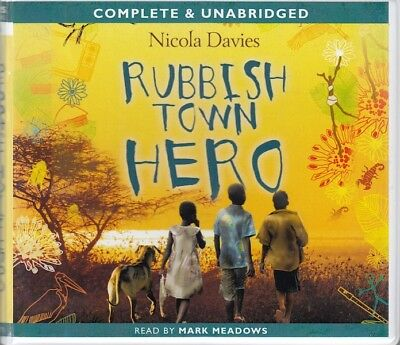 Nicola Davies Rubbish Town Hero 3CD Audio Book Unabridged Mark Meadows FASTPOST