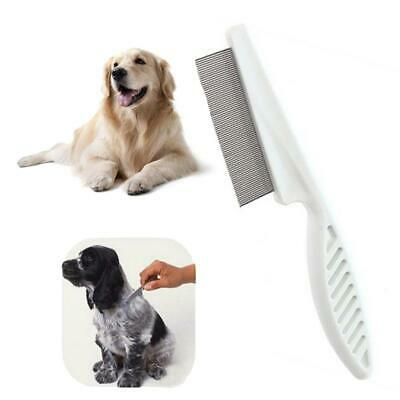 Pet Dog Cat Kitten Stainless Steel Pin Comb Hair Brush Grooming Trimming EA9 01