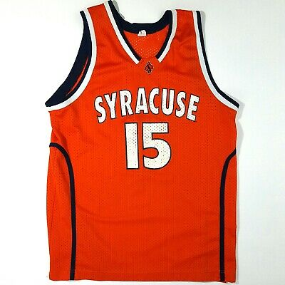 af66d8a87d2 Carmelo Anthony #15 NCAA Syracuse College Mens Basketball Jersey Size XL