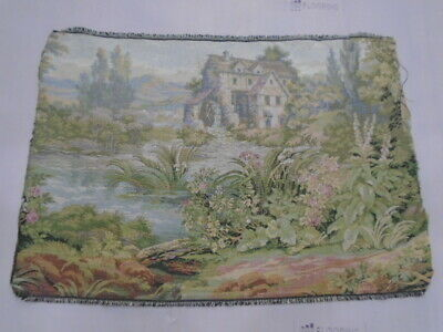 9206 -Old Tapestry  Wall Hanging 20 Century  - 70 x 48 cm