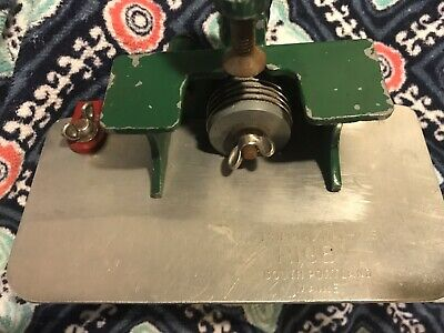 Vintage Hooked Rug Stripping Machine by Rigby~South Portland Maine