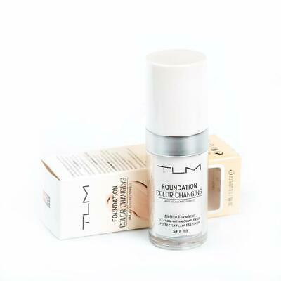 Tlm Colour Changing Foundation Spf 15 30Ml Uk