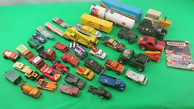 ~04~ Job ~ Lot ~ Vintage ~ Die ~ Cast ~ Plastic ~ Vehicles ~ Matchbox ~