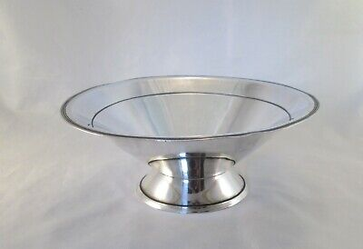 A Vintage Art Deco Silver Plated Dish / Bowl - c1930 - William Suckling