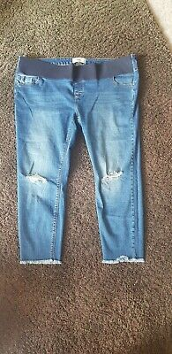 New Look Maternity Skinny Jeans Size 18