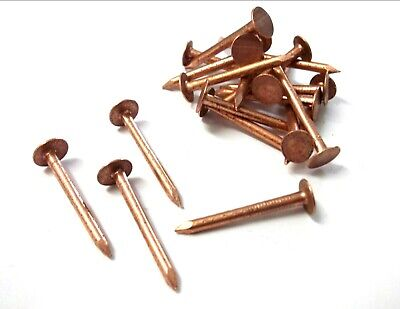 Copper clout nails. 30mm x 2.65mm. Roofing. Slate. Tree stump killer. Shed. Roof