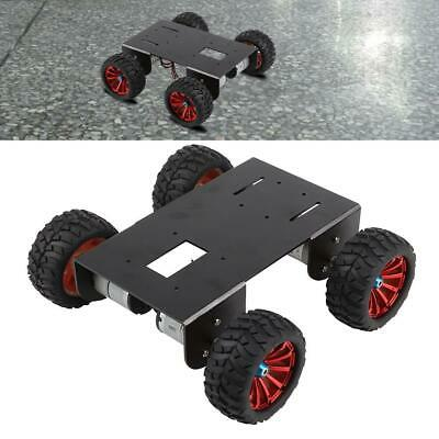 4WD Smart Robot RC Car Aluminum Alloy Chassis Kit DIY Accessory with ABS Wheel