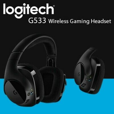 5b92b390aa5 Logitech G533 Wireless DTS 7.1 Surround Sound Gaming Headset Brand New  Sealed