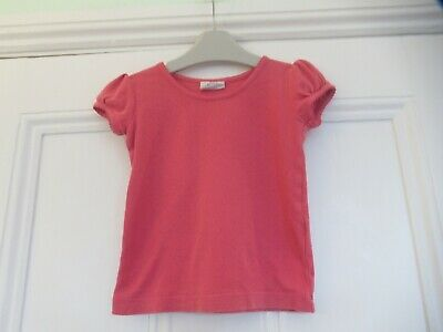 18-24m: MINI BODEN pink t-shirt/top:  Good condition: Combine postage
