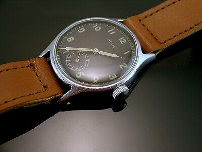 HELIOS DH , RARE MILITARY WRISTWATCHES for GERMAN ARMY, WEHRMACHT of WWII
