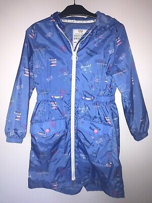 Marks & Spencer's  MAC Raincoat Age 9/10 Hooded Girls School