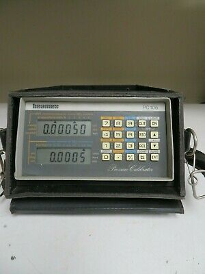 Beamex PC-106 Pressure Calibrator in case w/ power supply - NJ45