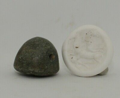 Superb Quality Ancient Carved Hard Stone Seal - Circa 500Bc  - 02