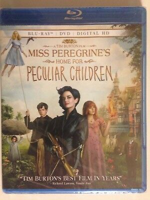 Miss Peregrines Home For Peculiar Children (Blu-ray Disc, 2016, 2-Disc Set)(NEW)