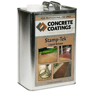 1 gal. Liquid Cement concrete mold release oil  veneer countertops garden more