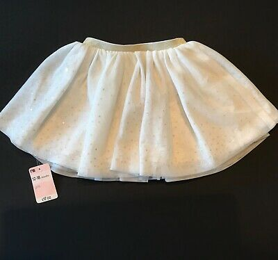 Mothercare Fantastic Forest Baby Girls White Party Tutu /Skirt Age 12-18 Months